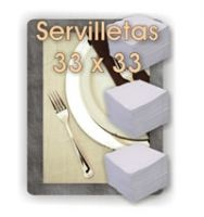 Servilletas 33 x 33